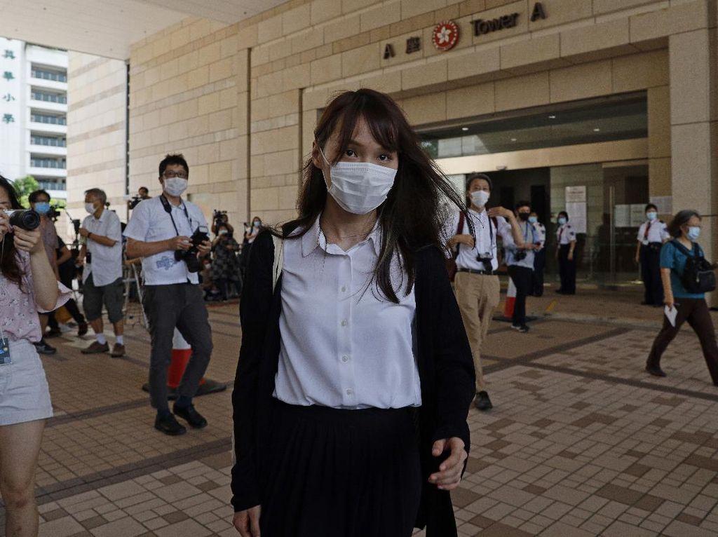Publik Jepang Juluki Aktivis Hong Kong Agnes Chow Dewi Demokrasi