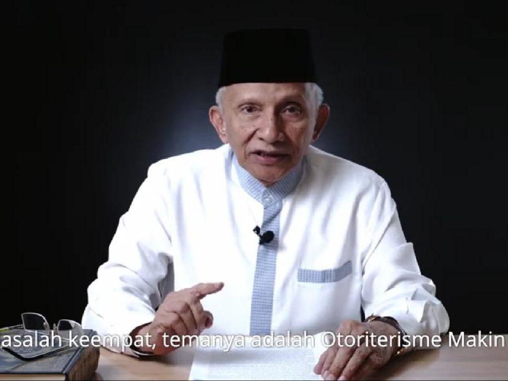 Tolak Omnibus Law, Amien Rais: Bikin Bangsa Kacung