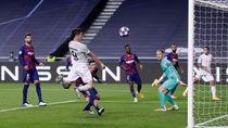 Video Serangan Ganas Bayern Robek Gawang Barcelona 8 Gol