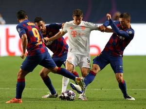 8 Gol Bayern Vs 7 Tembakan Barcelona