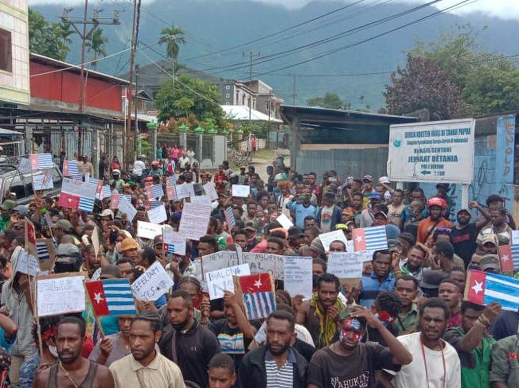 Polisi Tangkap Korlap dan Terduga Provokator Demo ULMWP di Jayapura