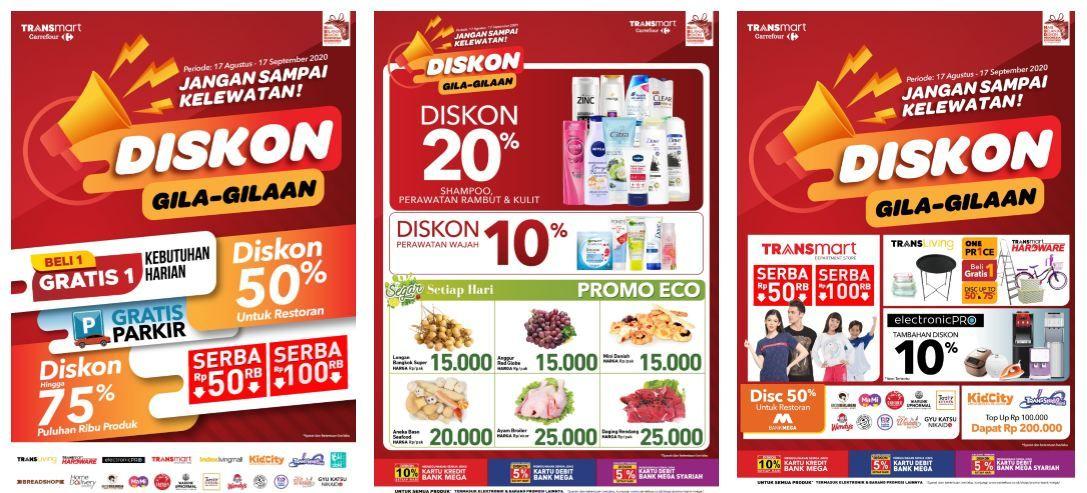 Belanja Bulanan Makin Murah Dengan Diskon Gila Gilaan Dari Transmart Carrefour