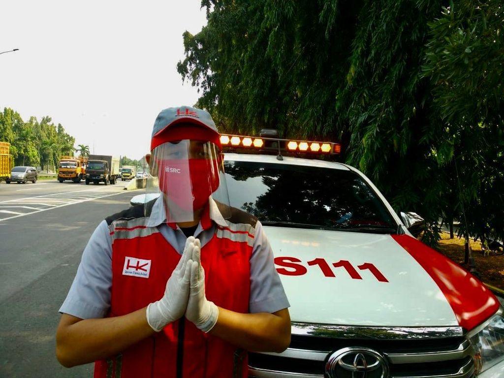 Sambut HUT RI ke-75, Hutama Karya Optimalkan Layanan di Jalan Tol