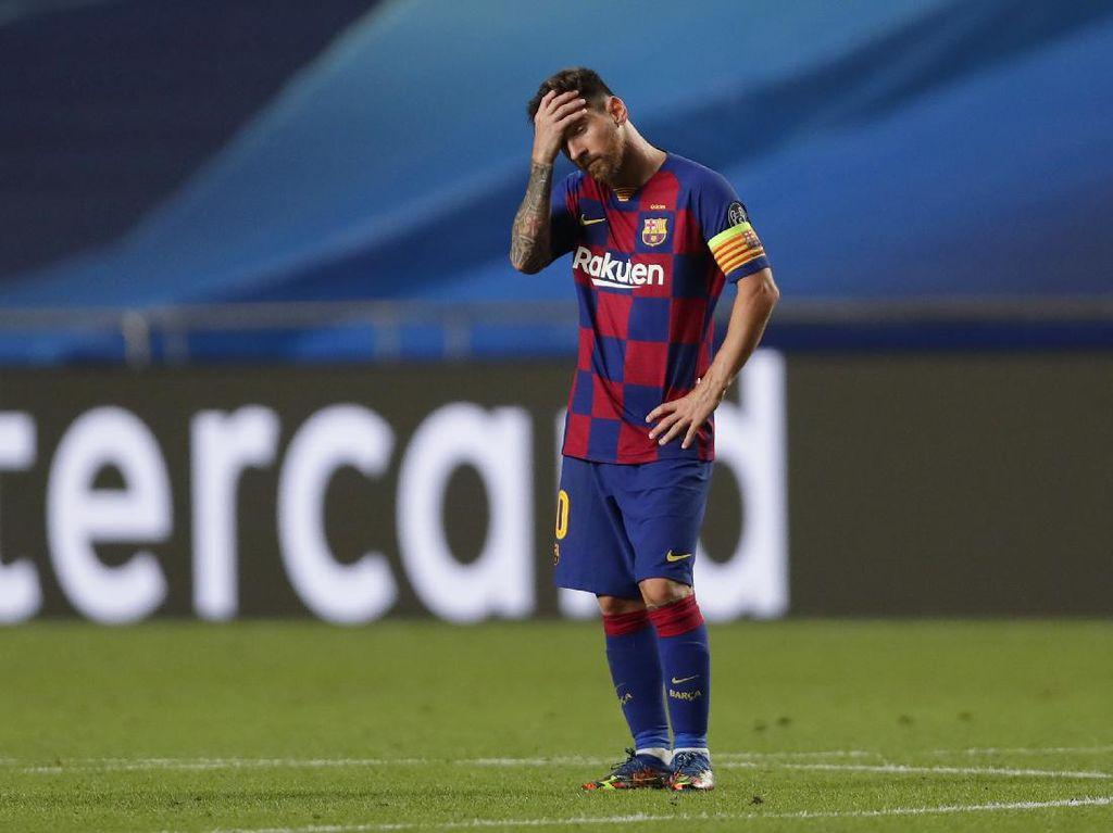 Viral Lionel Messi Bengong, Tatapannya Kosong