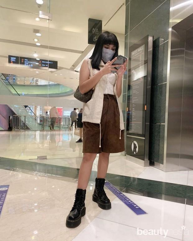 OOTD ke mall ala Lula Lahfah