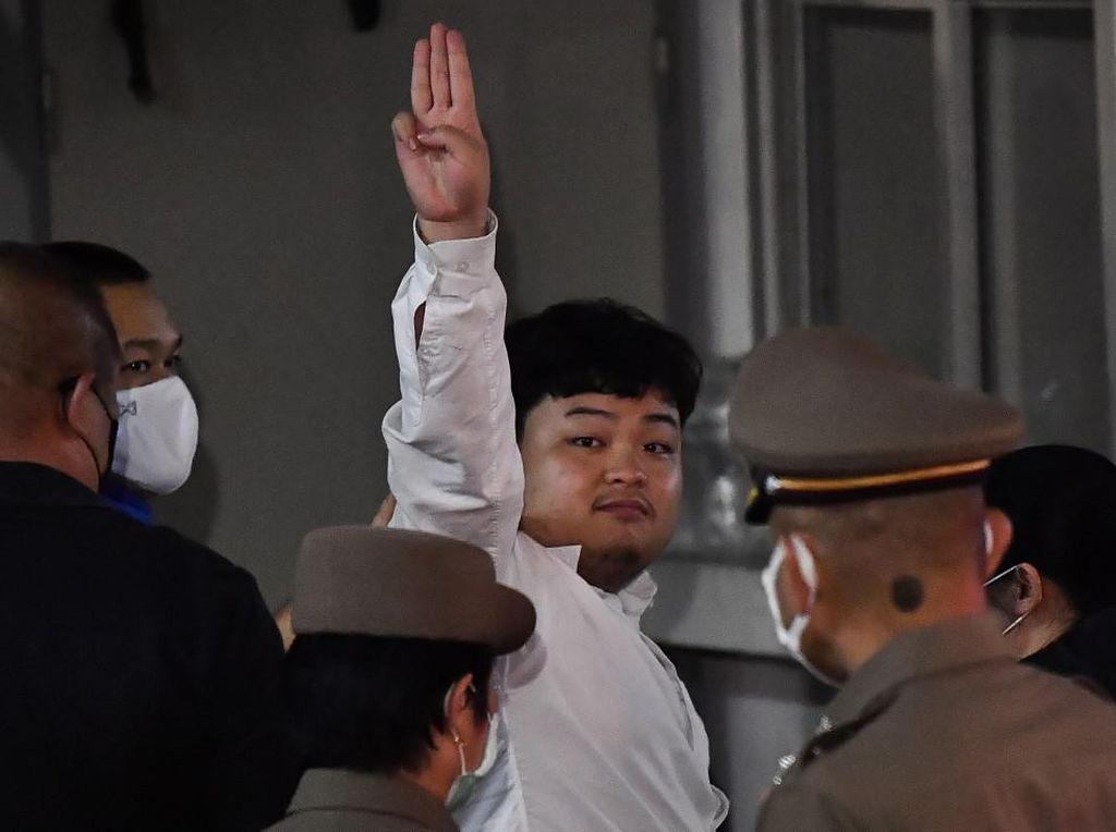 Ikut Demo Tuntut Reformasi, Mahasiswa Thailand Ini Ditangkap Polisi