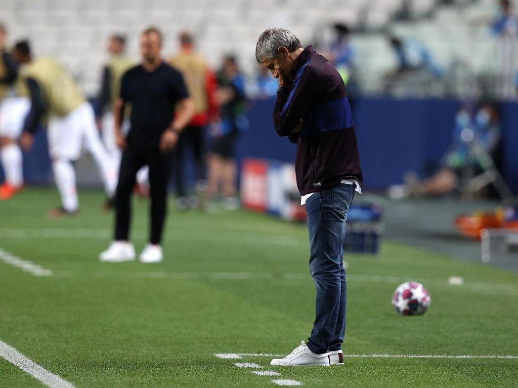 Barcelona Dipermalukan Bayern, Setien Bilang Begini