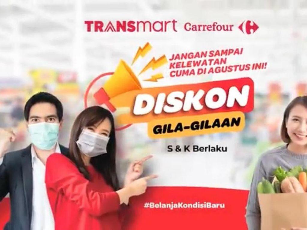 Serbu Aneka Camilan di Transmart Carrefour, Ada Promo Beli 1 Gratis 1