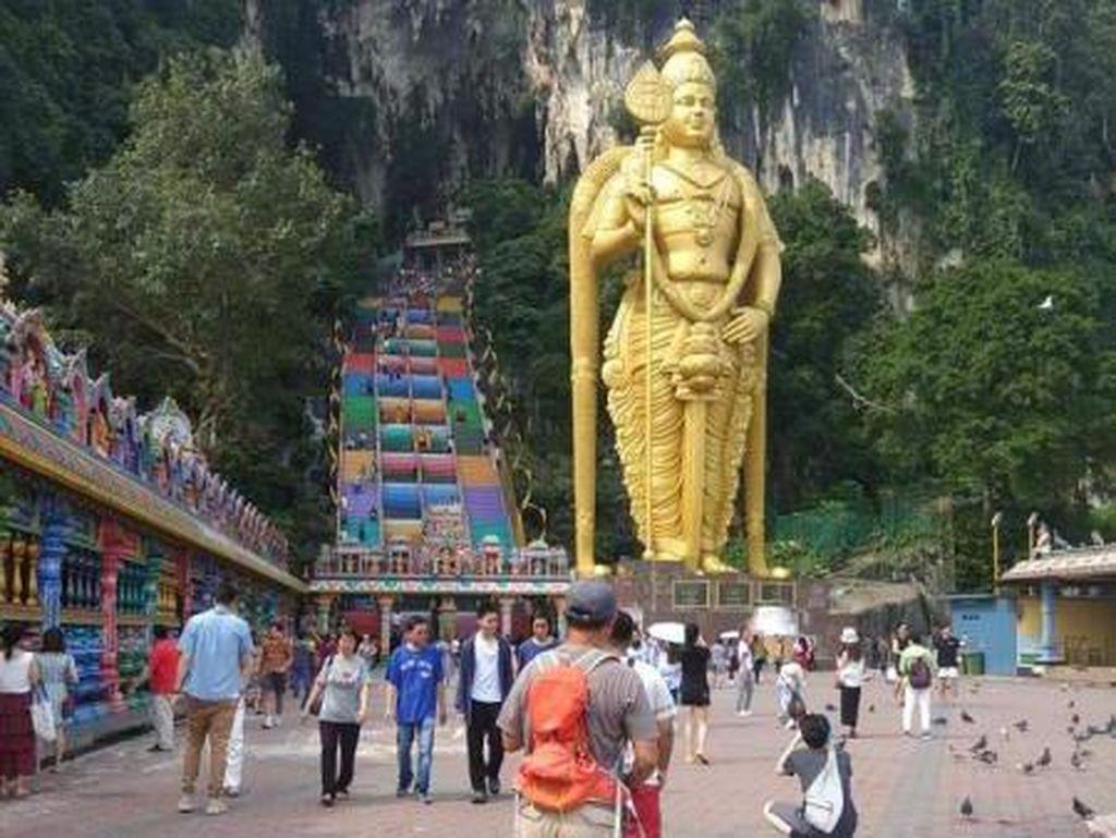 Foto: Kuil Hindu Terbesar di Malaysia