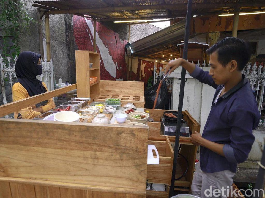 Bubur Bakar, Sarapan Mantap Penuh Gizi di Kampung Badran