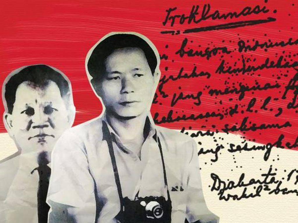 Kisah Menegangkan Alex-Frans Mendur di Balik Foto Detik-detik Proklamasi