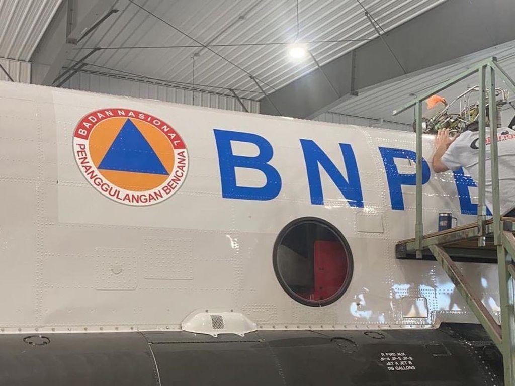 Penampakan Helikopter Chinook BNPB yang Siap Dikirim ke Indonesia
