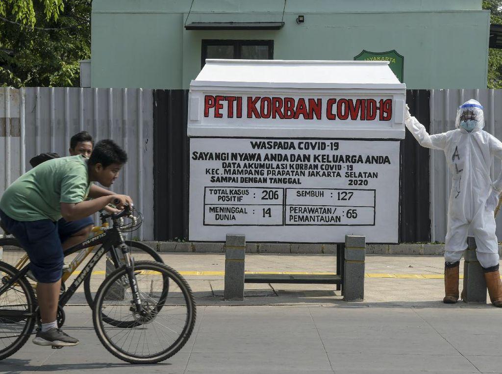 Update Corona RI: Bertambah 1.821 Kasus, DKI dan Jatim Tertinggi