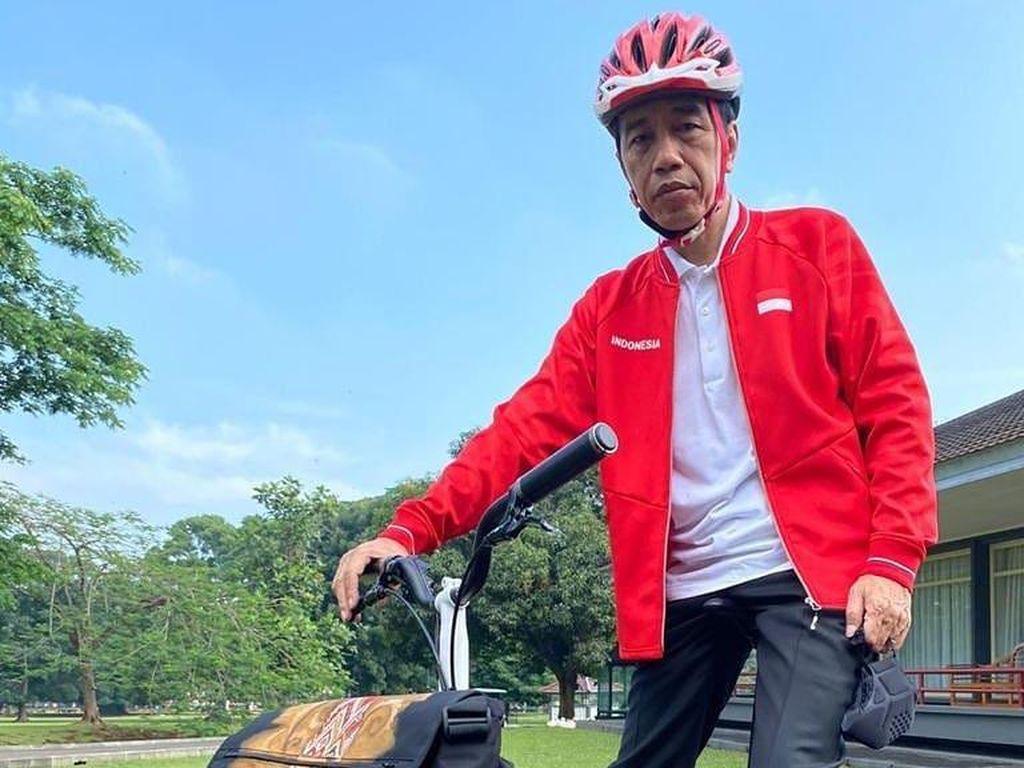 Dipakai Jokowi, Sepeda Kreuz Diproduksi Lulusan SMK Lho