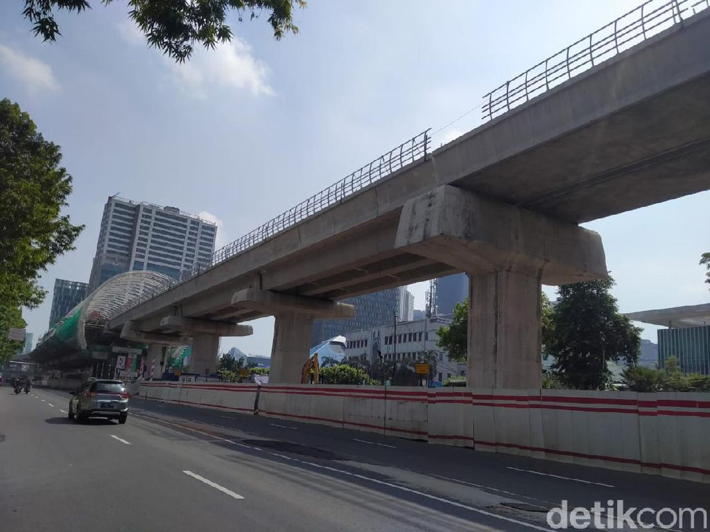 Proyek LRT Jabodebek Dikebut, Target Operasi Akhir 2021