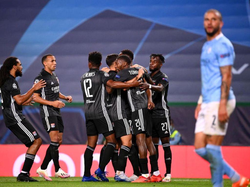 Lyon Kalahkan Manchester City Bukanlah Hoki