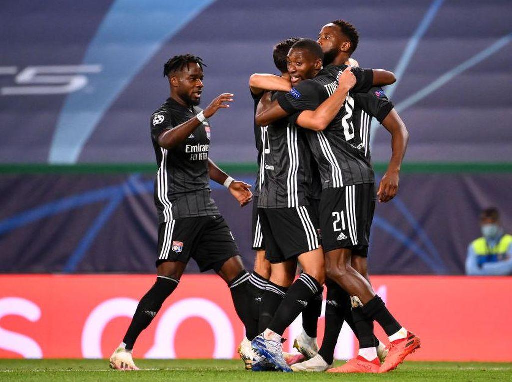 Hasil Liga Champions: Lyon Singkirkan Manchester City 3-1