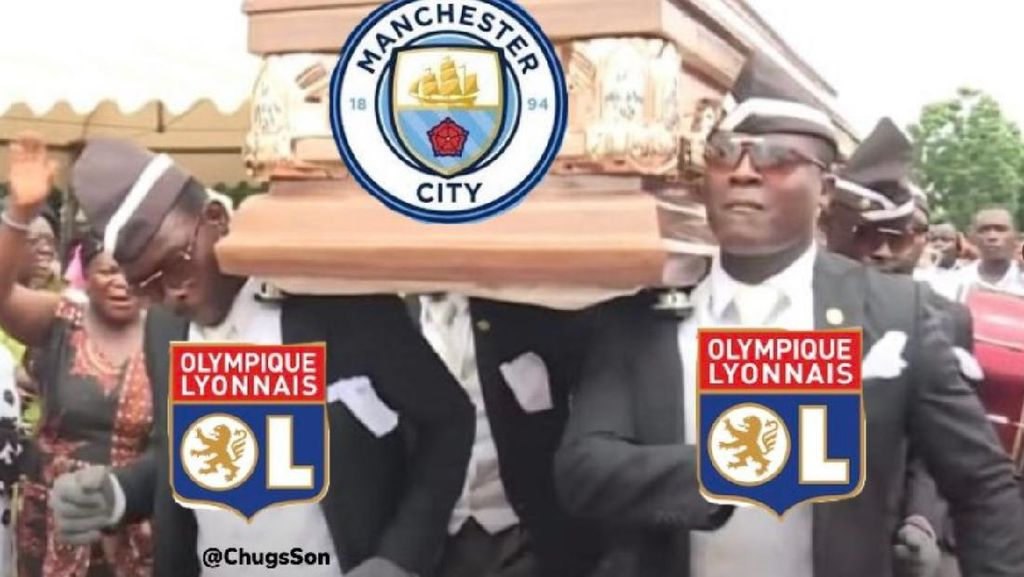 Meme Man City Gagal Maning di Liga Champions