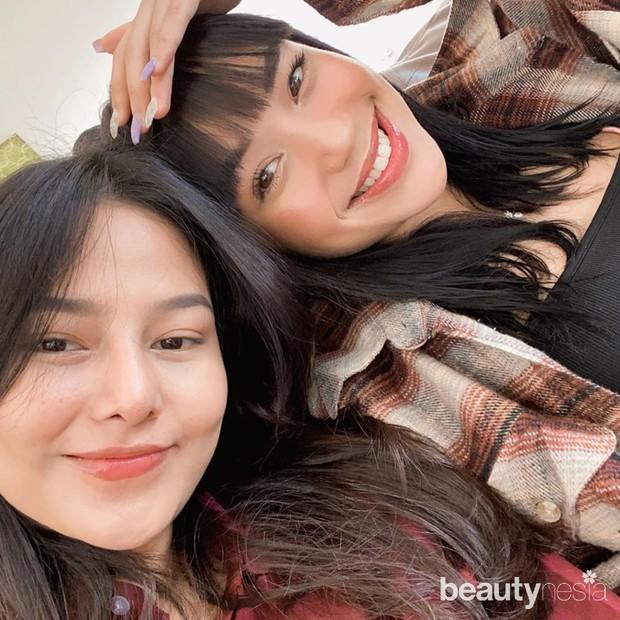 Persahabatan Lula Lahfah dengan Keanu dan Dara Arafah yang terlihat di postingan instagram.