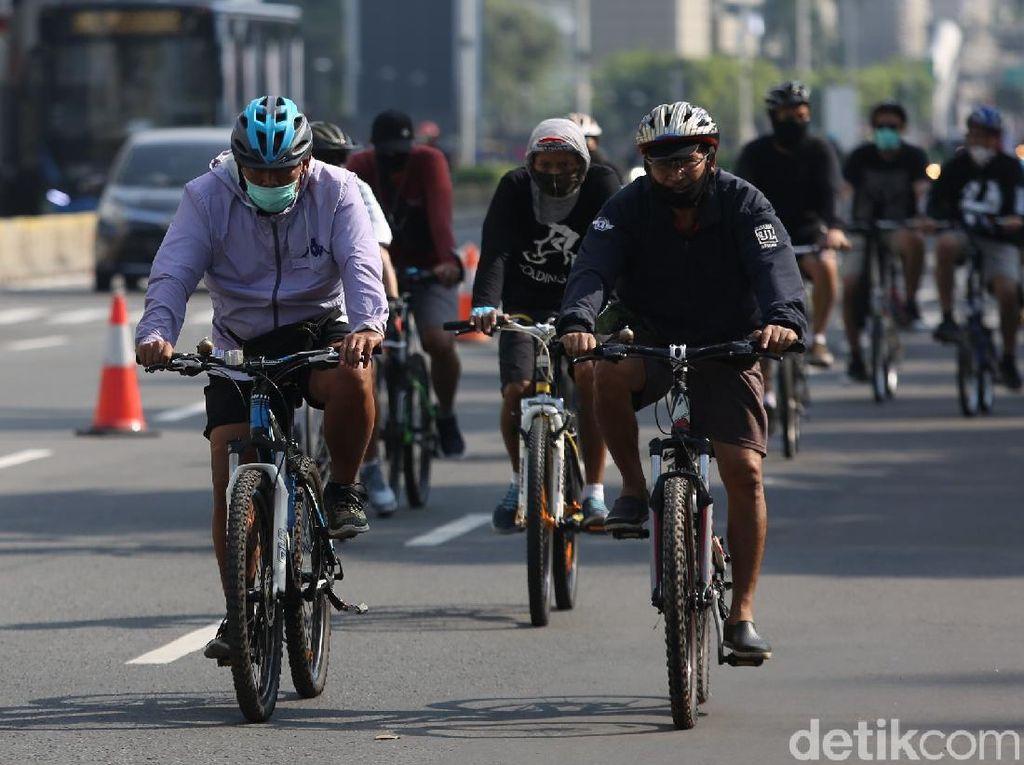 Ini 10 Titik Jalur Sepeda yang Dibuka Hari Ini