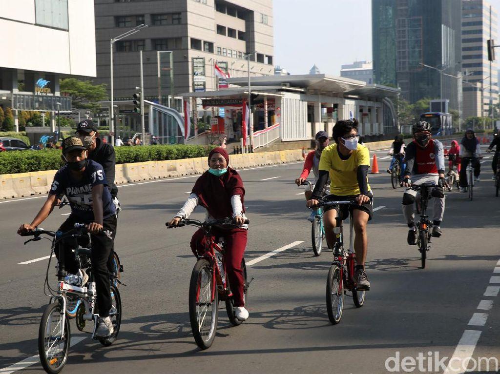 Jalur Khusus Sepeda Besok Dibuka di 10 Titik, Termasuk JLNT Antasari