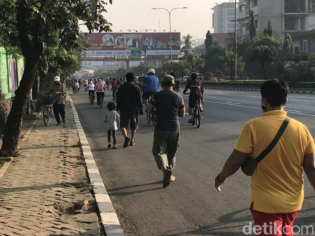 Alasan Warga Tetap Olahraga Meski CFD Bekasi Tak Ada: Refreshing-Hiburan