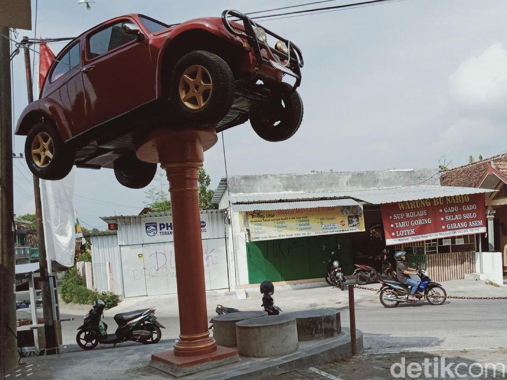 Potret VW Kodok yang Jadi Monumen di Klaten