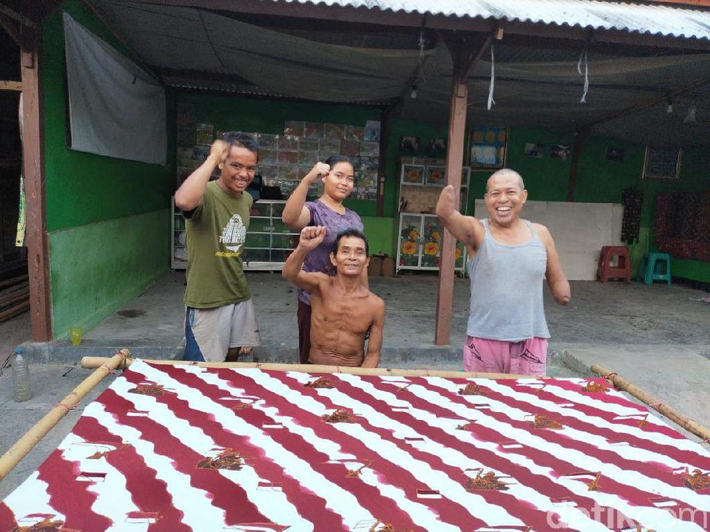 Komunitas Difabel Blora Ciptakan Motif Batik Kemerdekaan