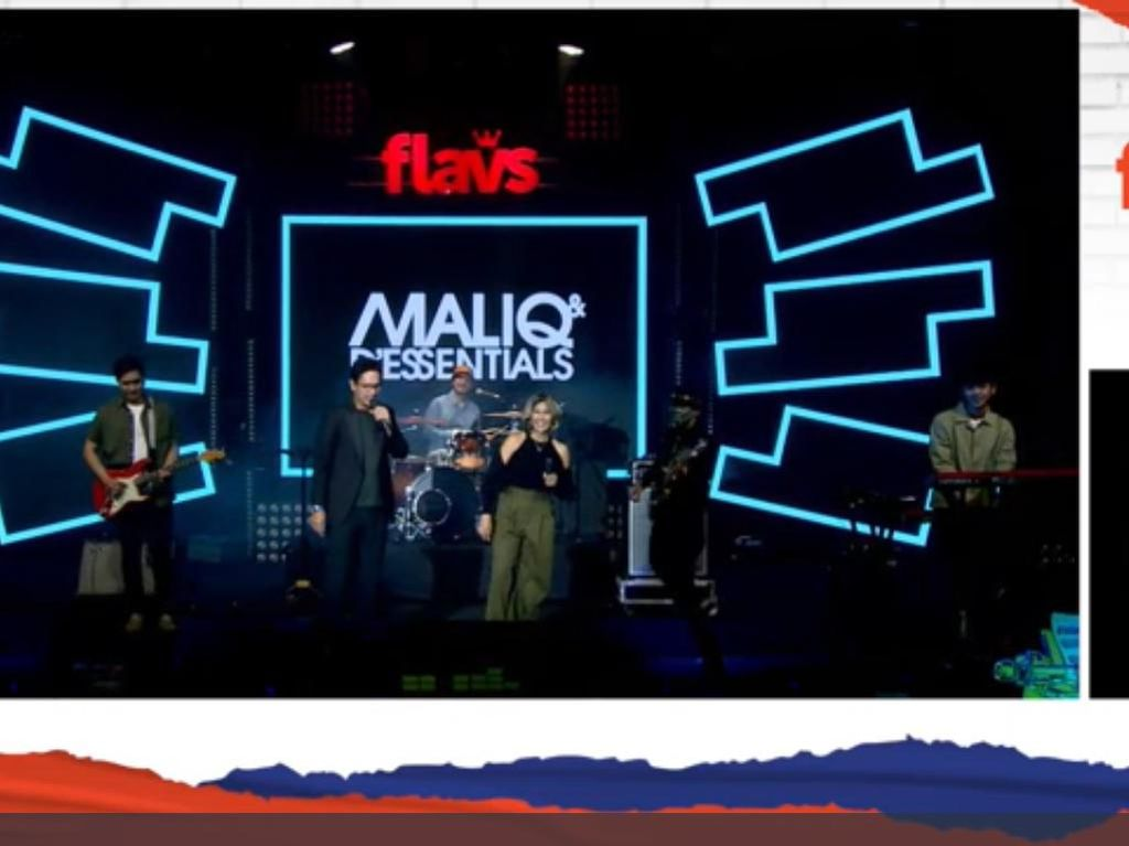 Maliq & DEssentials Jadi Salah Satu Penutup Flavs Virtual Festival