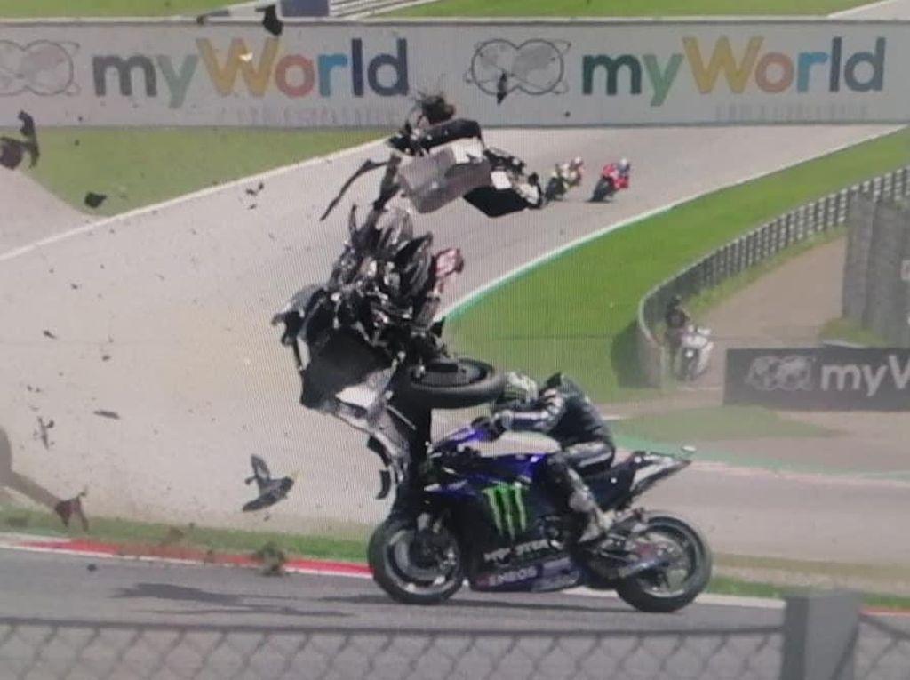 Video: Lihat Lagi Insiden Mengerikan di MotoGP dan Moto2 Austria
