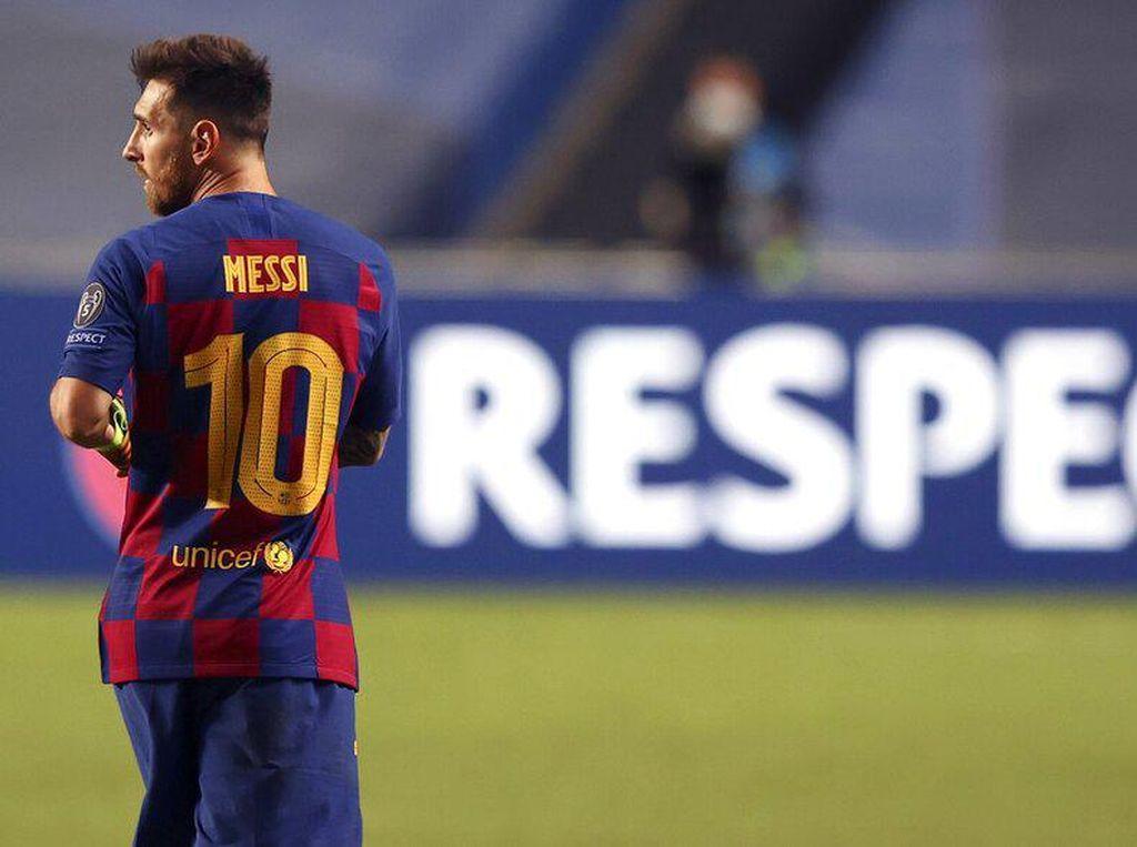 Lionel Messi Jangan ke Manchester, di Sana Hujan Terus-terusan