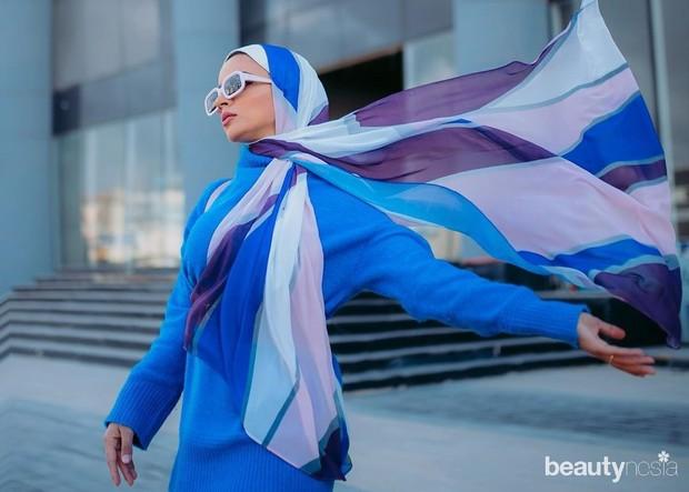Bahan yang ringan serta warna-warna yang cerah menjadi gaya hijab khas muslimah Mesir