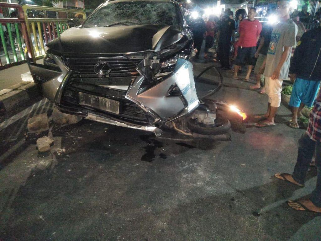 Kecelakaan Maut di Palmerah, Pemobil Lexus Jadi Tersangka