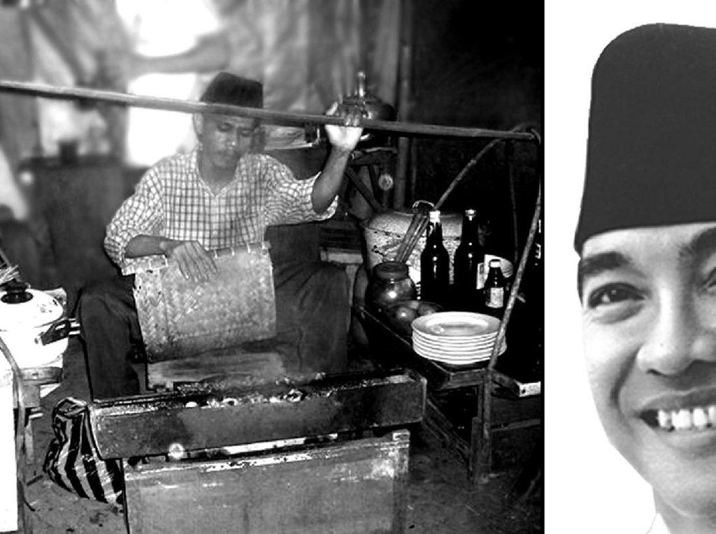 Perintah Pertama Soekarno Saat Jadi Presiden: Pesan 50 Tusuk Sate Ayam