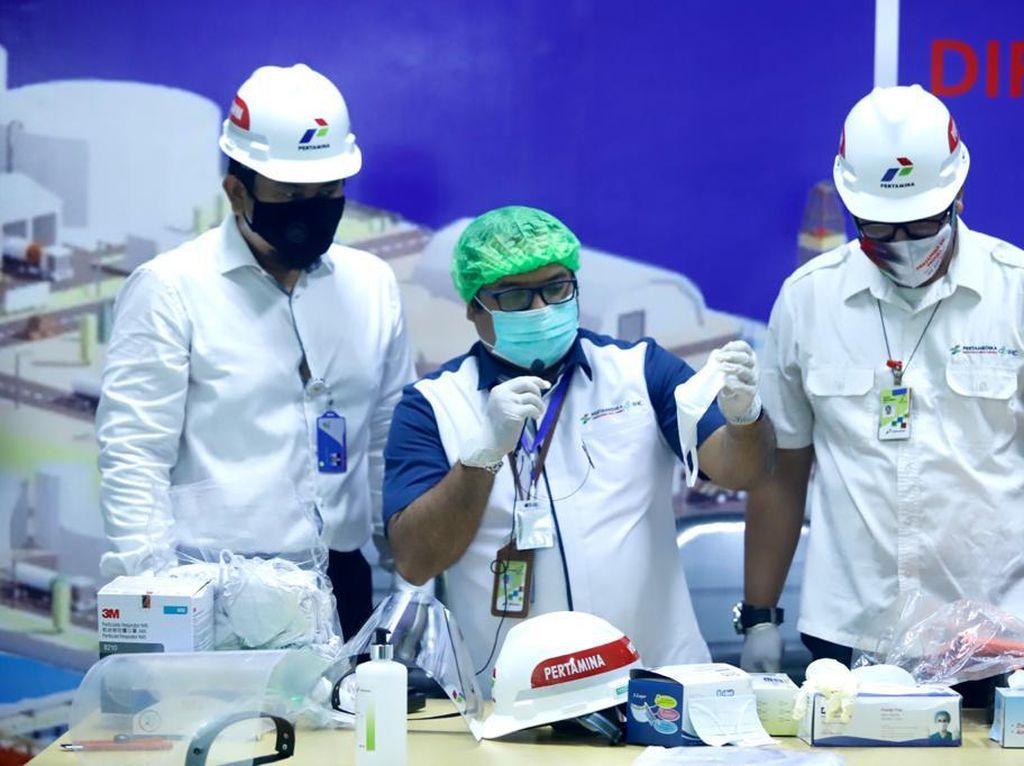 Pertamina Telah Salurkan Rp 839 M untuk Bantu Tangani COVID-19