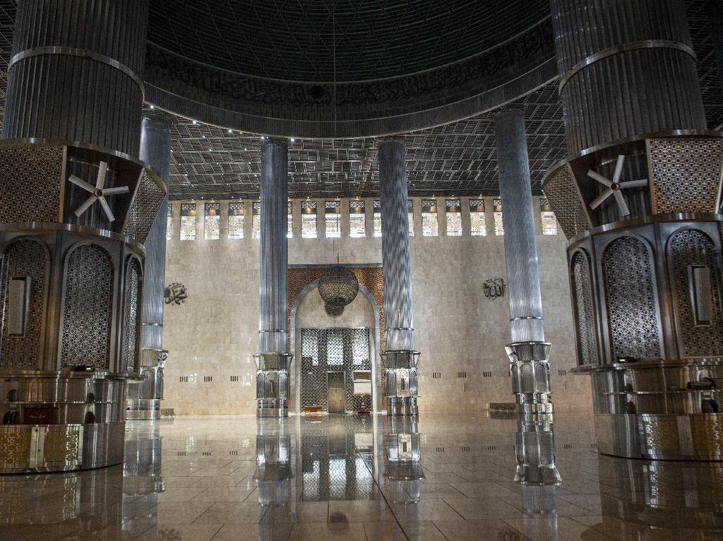 Begini Wajah Baru Masjid Istiqlal