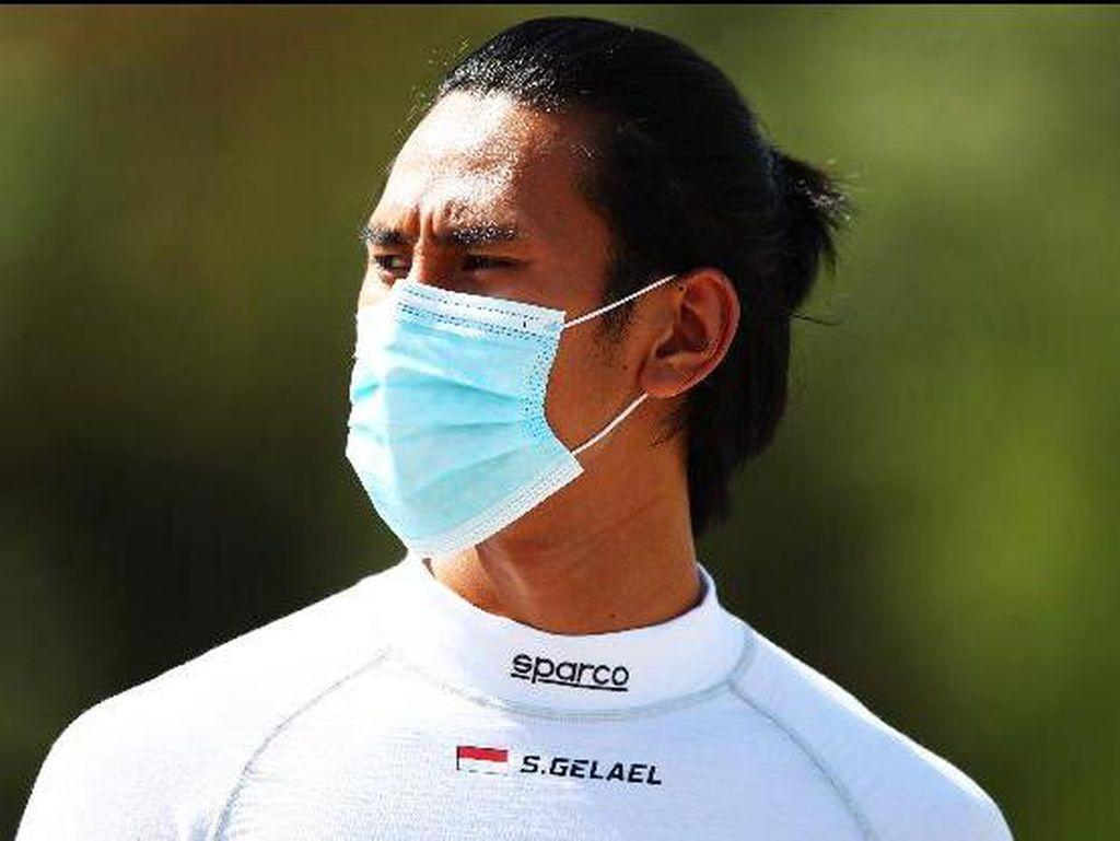 F2: Sean Gelael Retak Tulang Belakang, Gagal Poin di Barcelona