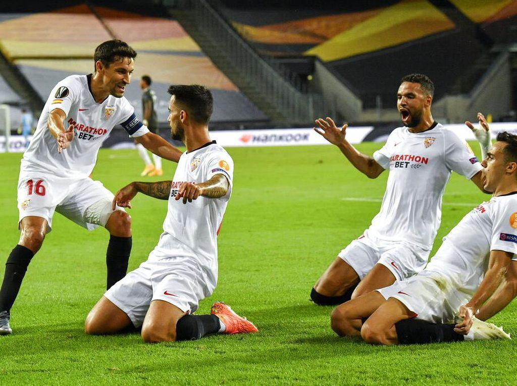 Final Liga Europa: Sevilla Tak Gentar dengan Skuad Mahal Inter Milan