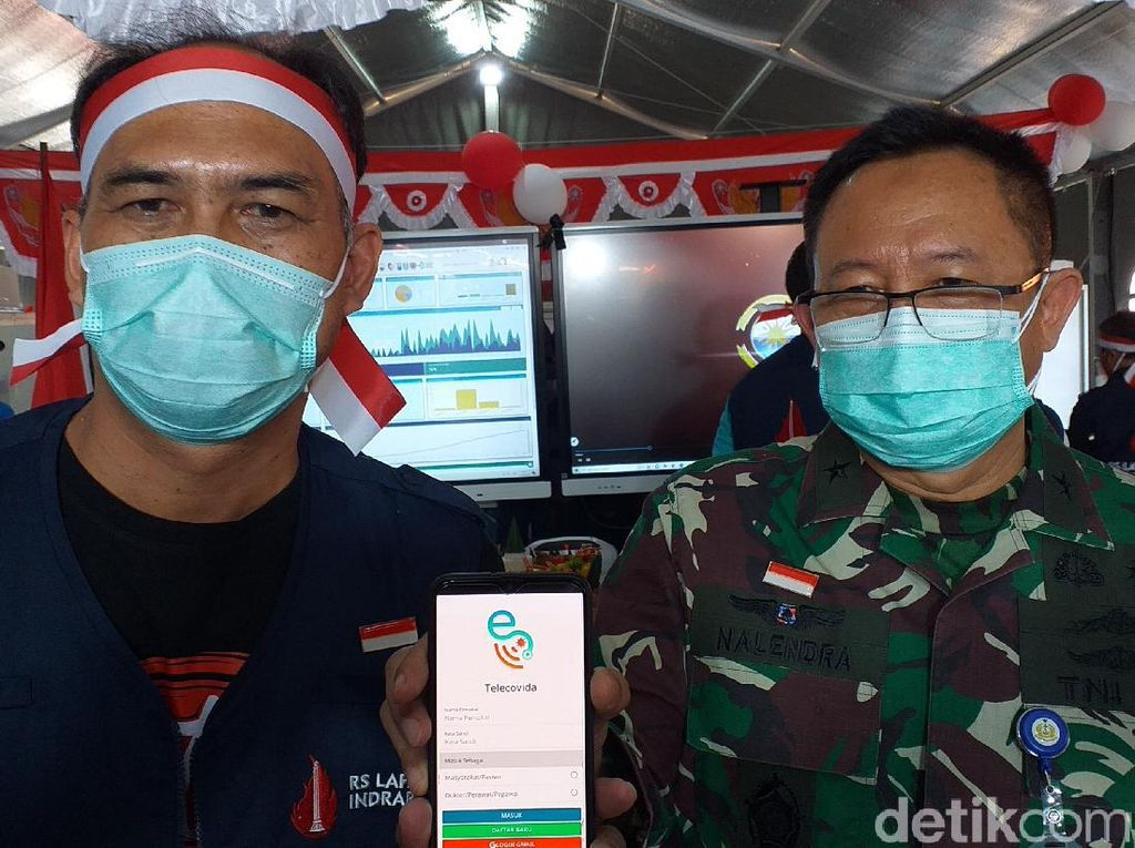 RS Darurat COVID-19 Jatim Luncurkan Aplikasi Telecovida, Apa Fungsinya?