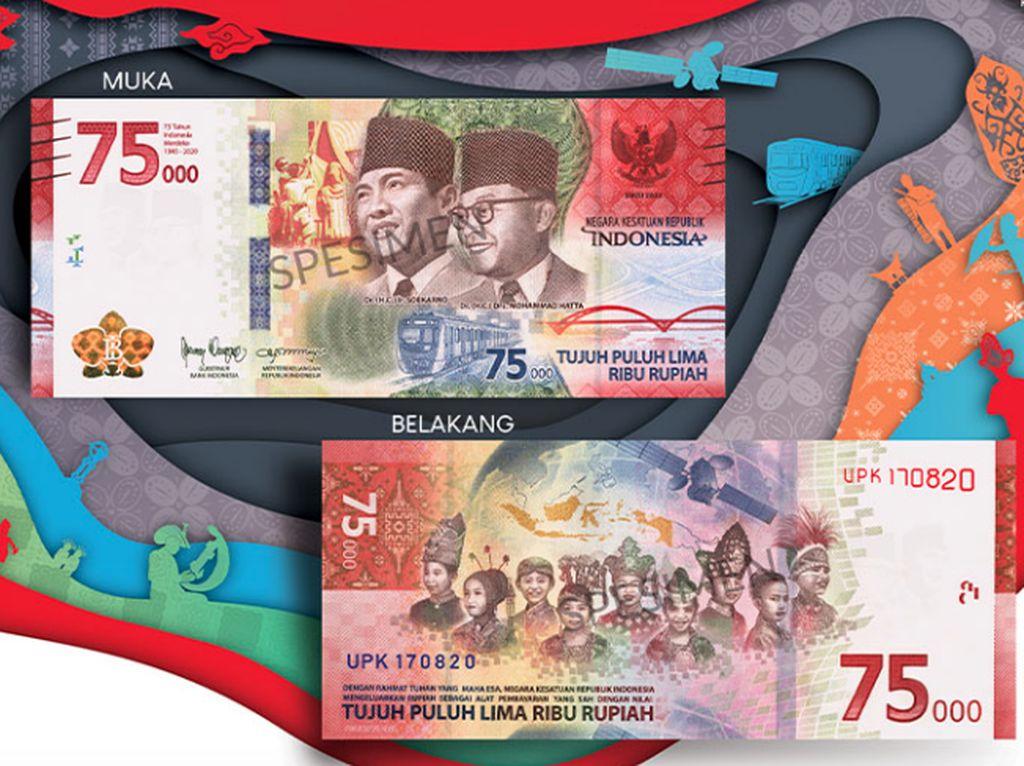 Wadaw! Uang Khusus Rp 75.000 Dijual Rp 1,3 Juta di Toko Online