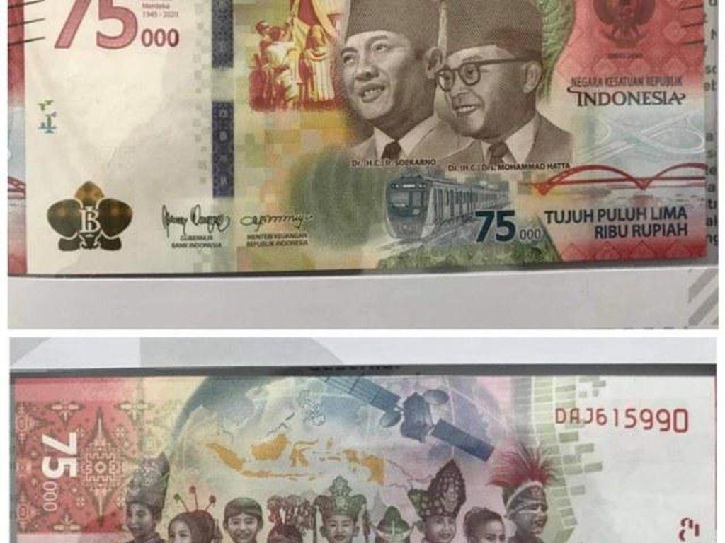 Makna di Balik Desain Uang Khusus HUT RI Rp 75.000