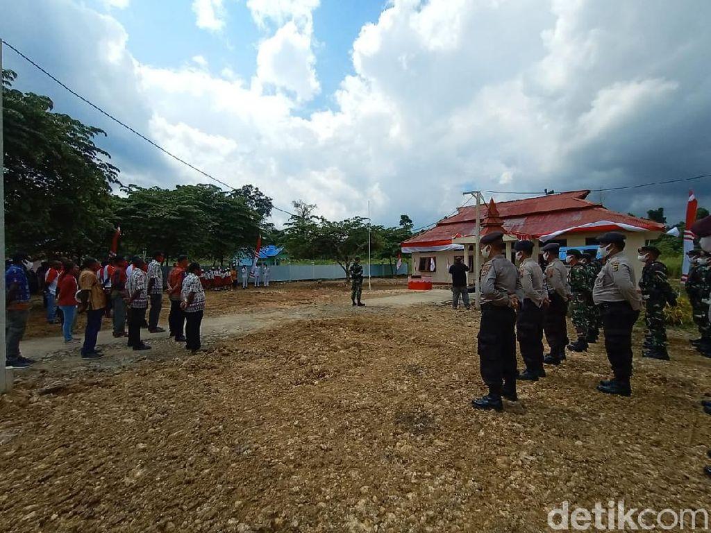 Upacara HUT RI Pertama di Kampung Tapal Batas: Saya Papua, Saya Indonesia!