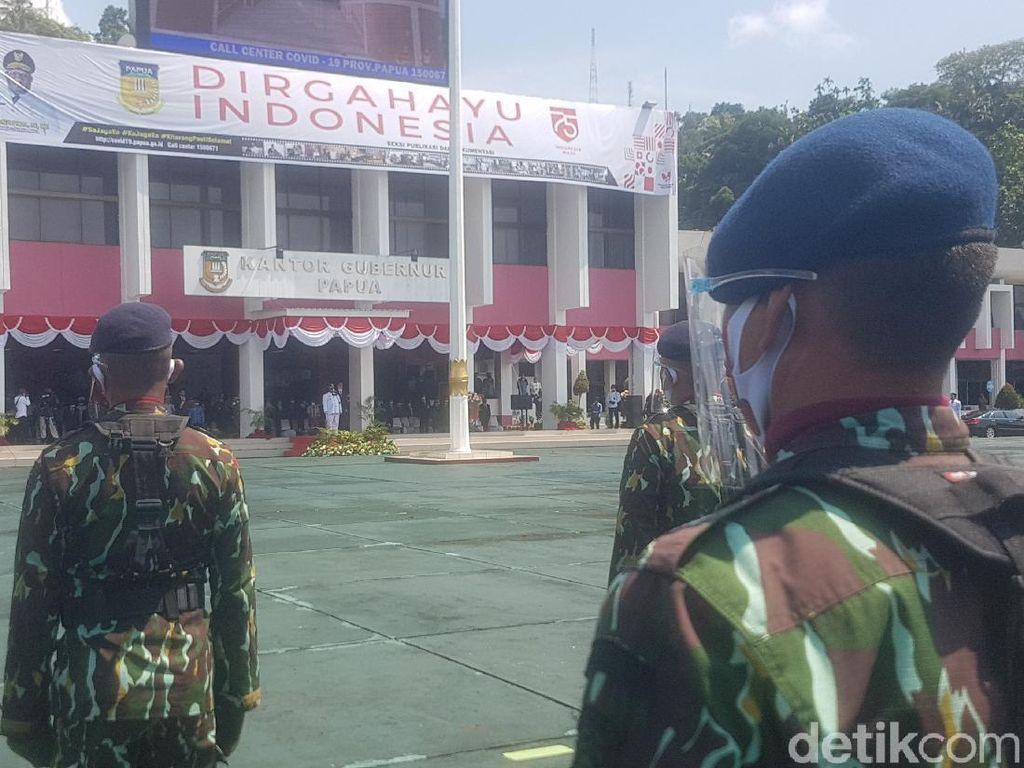 COVID-19 Mengubah Upacara Detik-detik Peringatan HUT Ke-75 RI di Papua