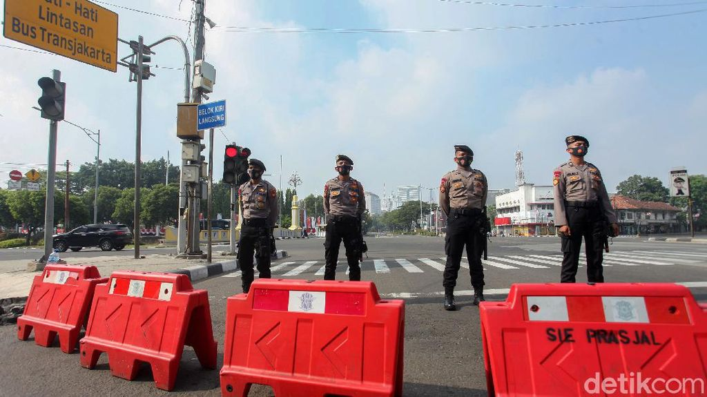 Upacara HUT RI, Jalan Menuju Istana Merdeka Ditutup