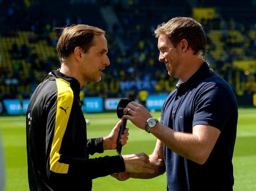 Jelang Leipzig Vs PSG: Duel Julian Nagelsmann Vs Thomas Tuchel
