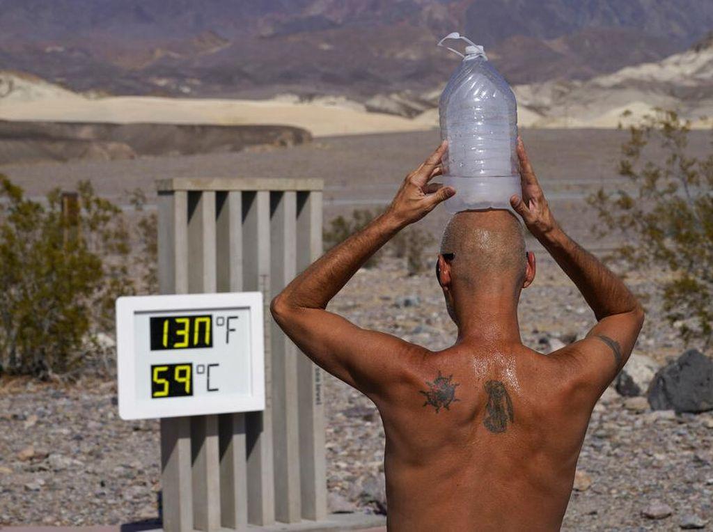 Gila! Suhu Udara di TN Death Valley Capai 54,4 Derajat Celcius