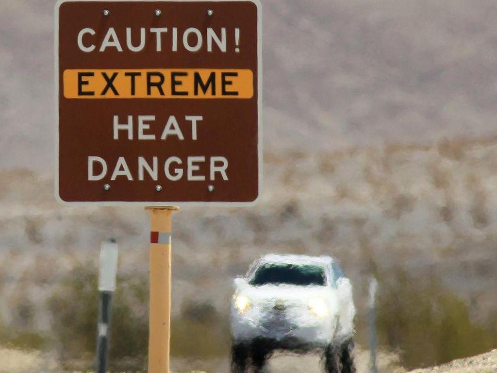 Ini Video Tempat Terpanas di Bumi, Suhu Mencapai 54,4 Celcius