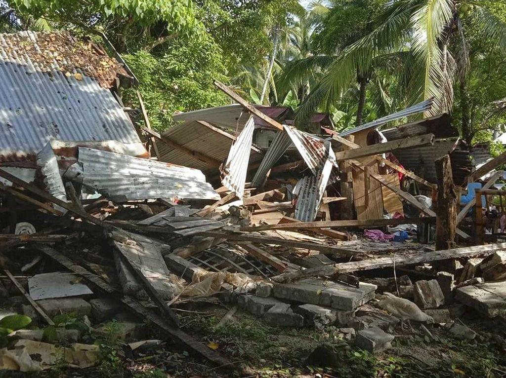 Filipina Diguncang Gempa M 6,7, Begini Dampak Kerusakannya