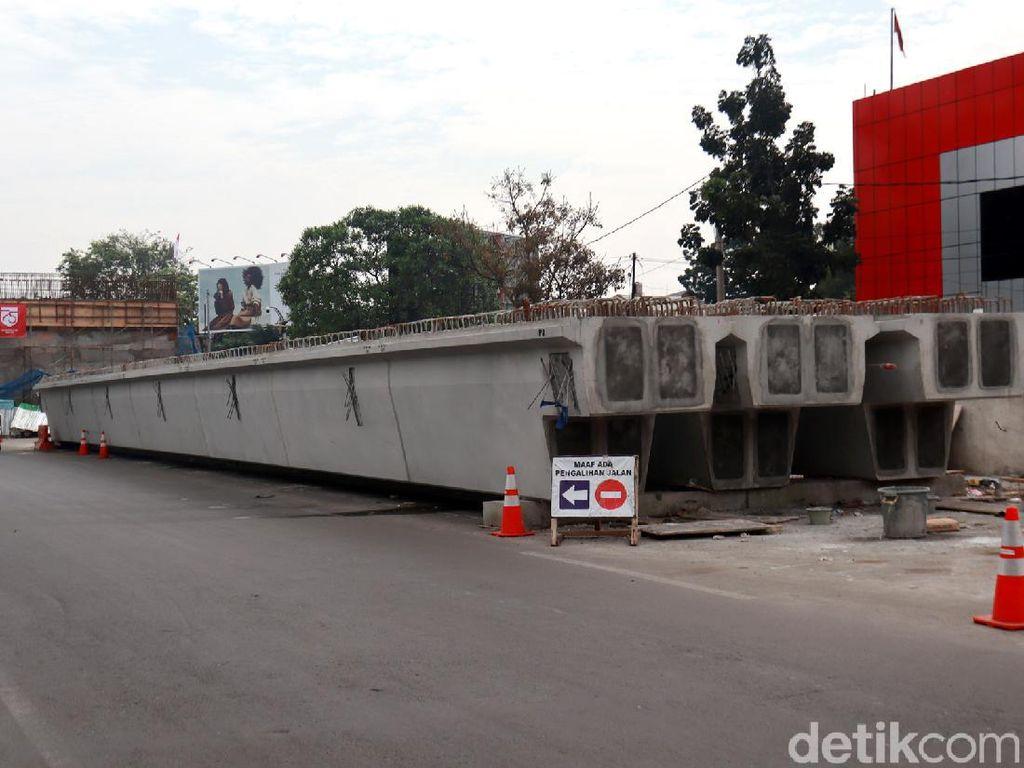 Flyover Jalan Laswi di Bandung Akan Dipasang Girder