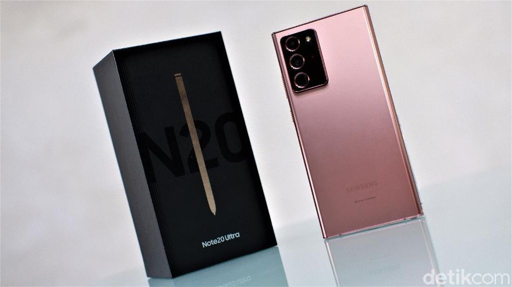 Galaxy Note 20 Ultra Mystic Bronze Mewah nan Menawan